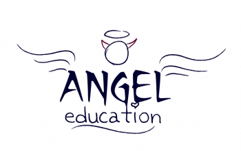 Angel Education logo - Izzy's favourite