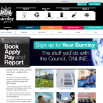 burnley council home page