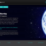 burnley council self serve homepage