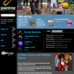 pointme homepage