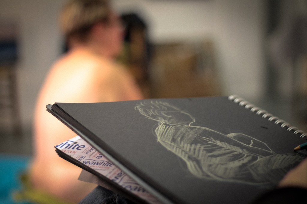 AC Telfer life drawing at Studio22b